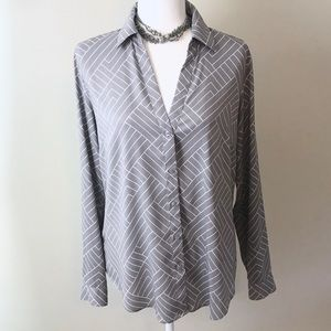 Ann Taylor Tailored Blouse